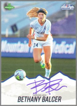 2020  Parkside NWSL Challenge Cup Signature Series Bethany Balcer