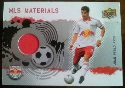 2009 Upper Deck MLS Materials Juan Pablo Angel