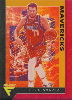 2019-20 Panini Chronicles Flux Red Luka Doncic #ed 9/149