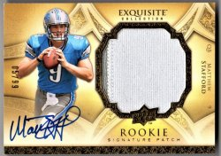 2009 Upper Deck Exquisite Matthew Stafford