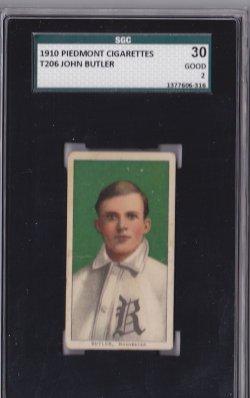 1909  T206 Piedmont 350 John Butler