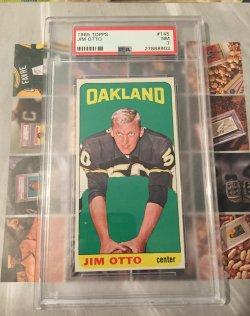 1965 Topps  Jim Otto