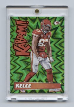 2019 Absolute Kaboom Green #24 Travis Kelce 1/1