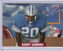 1991  Star Pics Flashback Barry Sanders