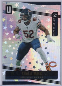 2019 Panini Unparalleled Khalil Mack Base Astral