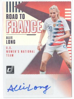 2019 Donruss Road to France Autographs Allie Long