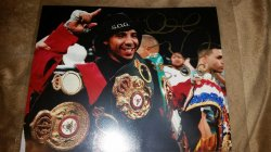 Andre Ward 8x10 Photo IP Autograph