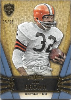 2012 Topps Supreme Blue Jim Brown