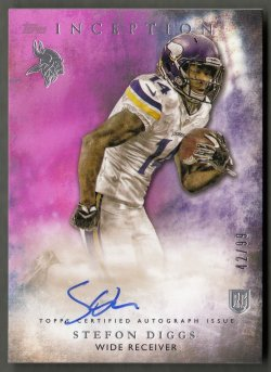 2015 Topps Inception Magenta  Stefon Diggs