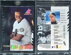 1997   Pinnacle Inside Diamond Edition Die Cut Frank Thomas