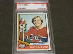 1974 Topps  Guy Lafleur
