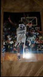 Shaquille ONeal 8x10 Photo IP Autograph