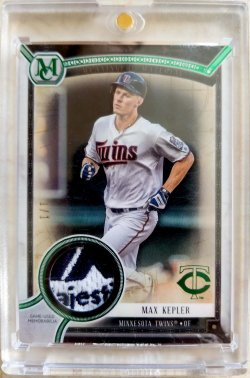 2018 Topps Museum Collection Max Kepler Meaningful Materials