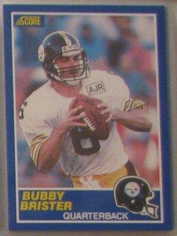 1989 Score  #11 - Bubby Brister RC