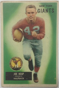 1955 Bowman  Joe Heap
