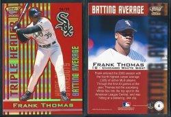 2000  Revolution Triple Header Gold Frank Thomas