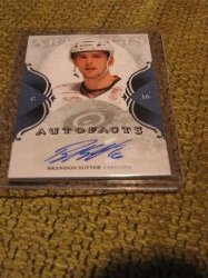 2012 Upper Deck Artifacts Brandon Sutter