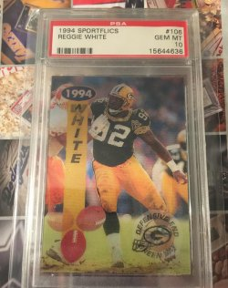 1994  Sportflics Reggie White