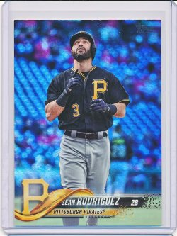 Sean Rodriguez 2018 Topps Update Rainbow Foil