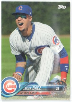 2018 Topps New Era Photo Variation Javier Baez
