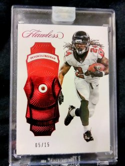 2017 Panini Flawless Devonta Freeman Base Gem