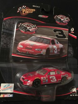 2004  WINNERS CIRCLE  RCR Museum  DALE EARNHARDT  #3  COCA COLA Chevy MonteCarlo  1/64