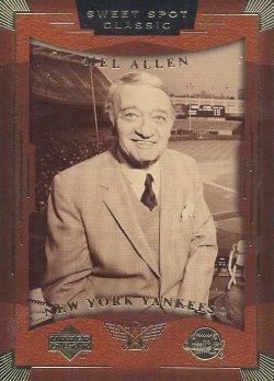 2004 Upper Deck Sweet Spot Classic Mel Allen