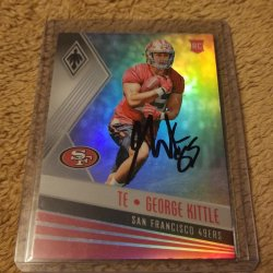 2017 Panini Phoenix George Kittle RC IP Auto