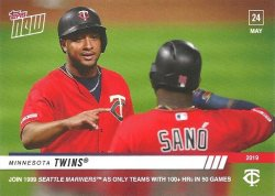 2019 Topps NOW Minnesota Twins