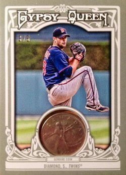 2013 Topps Gypsy Queen Hometown Currency Coins Scott Diamond 138