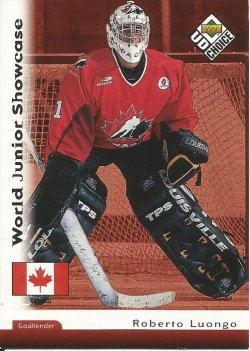 1998 Upper Deck collectors choice Roberto Luongo