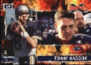 2001 Topps XFL Tommy Maddox
