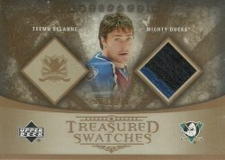 2005/06  Artifacts Treasured Swatches Selanne