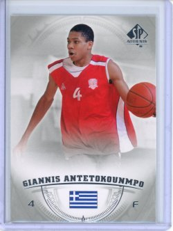 2013-14 Upper Deck SP Authentic Giannis Antetokounmpo RC