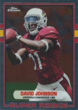 2015 Topps Chrome 1989 David Johnson