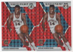 2019 Panini mosaic Oscar Robertson red and red fusion