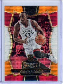 2016-17 Panini Select Pascal Siakam Tri-Color RC