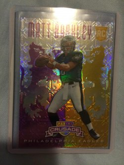 2013 Panini Rookies & Stars Matt Barkley Crusade Purple
