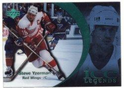 1997 Upper Deck Ice Legends-Green Steve Yzerman