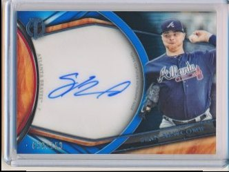 Sean Newcomb 2018 Topps Tribute Autographs /150