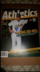 2017  Athletics Magazine Bob Melvin IP Autograph