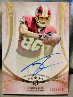 2013 Topps Five Star Jordan Reed Futures Autographs