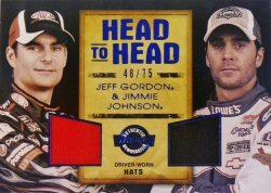 2011 Press Pass  Jeff Gordon/Jimmie Johnson