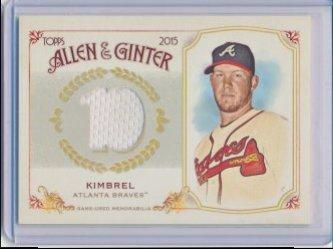 Craig Kimbrel 2015 Allen and Ginter Relics