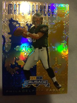 2013 Panini Rookies & Stars Matt Barkley Crusade Blue Parallel