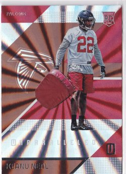 2016 Keanu Neal Unparalleled   RC    Falcons A5728