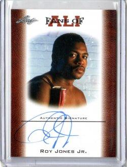 2010 Leaf Muhammad Ali Roy Jones Jr. Fans of Ali