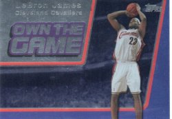 2006-07 Topps  James, LeBron - Own the Game