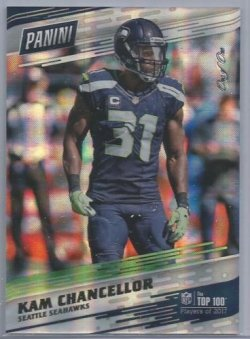 2017 Panini Top 100 Kam Chancellor