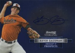 Kevin Gausman 2012 Bowman Sterling Prospects Autograph